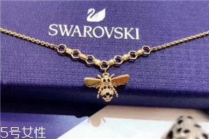 施华洛世奇小蜜蜂手链是什么材质?