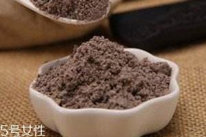 黑豆粉的功效与作用