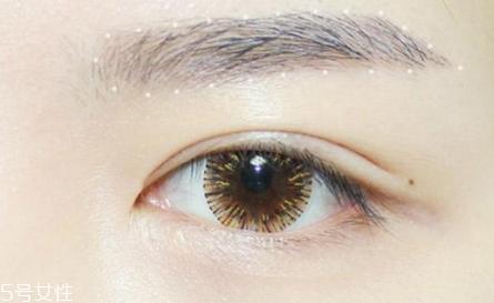 韩式妆容画法图片