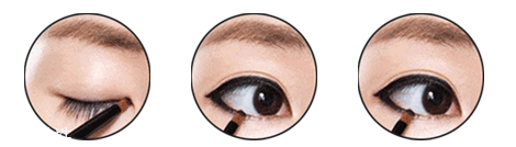 眼线晕染到下眼皮怎么办图片