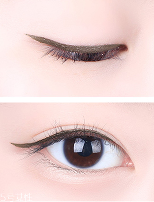 眼线为什么会晕染图片