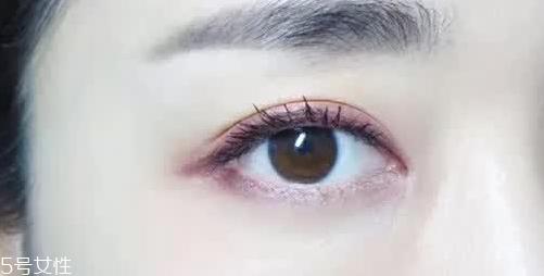 紫色眼妆的画法图片图片