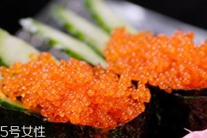蟹籽孕妇可以吃吗?蟹籽寿司也不可以