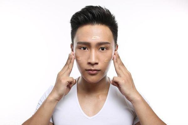 男生怎么化妆显脸小?这4个地方化好秒帅
