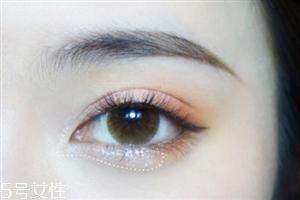 眼影先涂浅色还是深色 眼影颜色搭配和画法图
