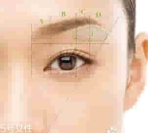 不同脸型适合的眉毛图片