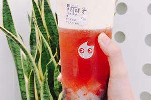 抖音coco奶茶草莓奶霜好喝吗?coco奶霜草莓果茶试吃