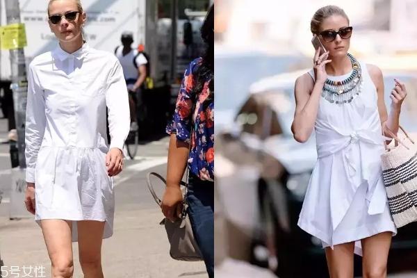 2018最新款条纹衬衫裙 3种衬衫裙时髦不费力