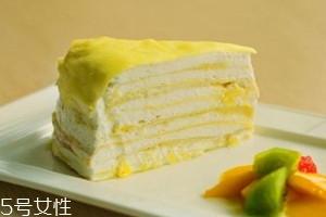 孕妇能吃榴莲千层蛋糕吗 孕妇吃榴莲千层蛋糕注意事项