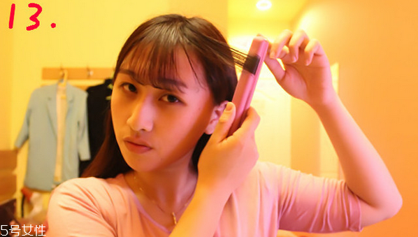 空气刘海怎么剪好看 空气刘海剪法教程