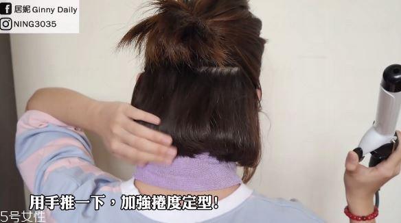 空气刘海短发怎样扎萌图片