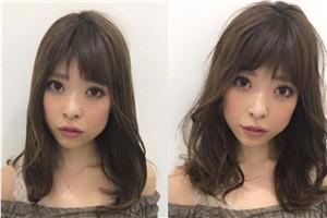 不同脸型适合什么样的刘海