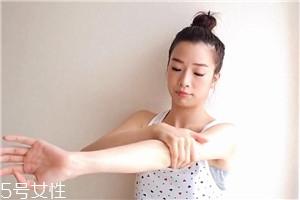 瘦手臂怎么按摩图解