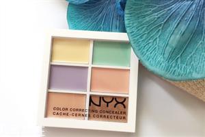 nyx六色遮瑕盘用什么刷子 nyx遮瑕盘适合肤质