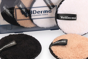 wellderma梦蜗卸妆饼白色咖啡色黑色区别
