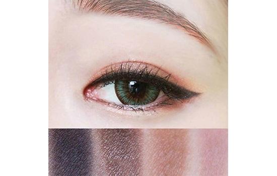 紫色眼妆高清图片图片