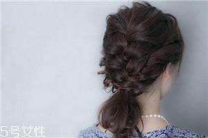 男生最喜欢女生什么发型的编发