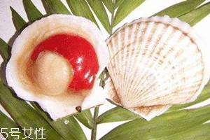 虾夷扇贝和扇贝的区别 虾夷扇贝红色部分能吃吗
