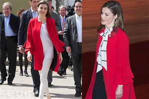 红白衣服搭配图片 衣服红白搭配图片