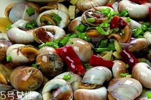 香螺不能和什么一起吃 香螺的食用禁忌