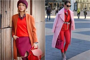 秋冬亮色系衣服有哪些颜色 秋冬亮色系衣服图片
