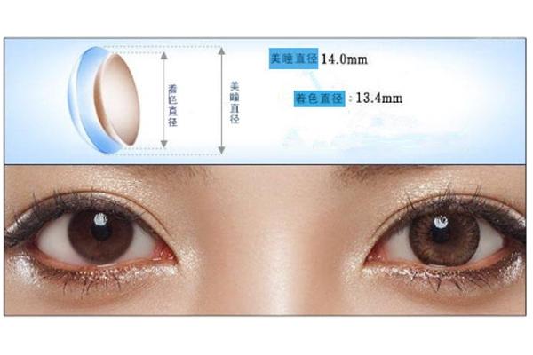 美瞳直径和着色直径怎么区分 如何挑选适合自己的美瞳