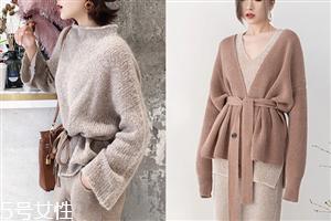 针织毛衣流行款式 2018流行女装针织衫