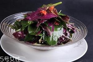 观音菜有毒吗 观音菜吃多了会中毒吗