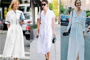 今年流行什么样的小白裙?小白裙哪种好看