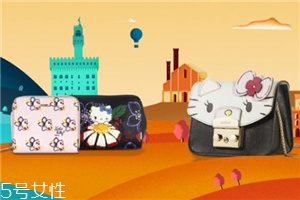 furla hello kitty合作系列包包多少钱_在哪买?