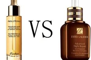 娇兰黄金复原蜜和雅诗兰黛小棕瓶哪个好?