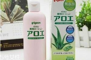 贝亲芦荟水和桃子水有什么区别?