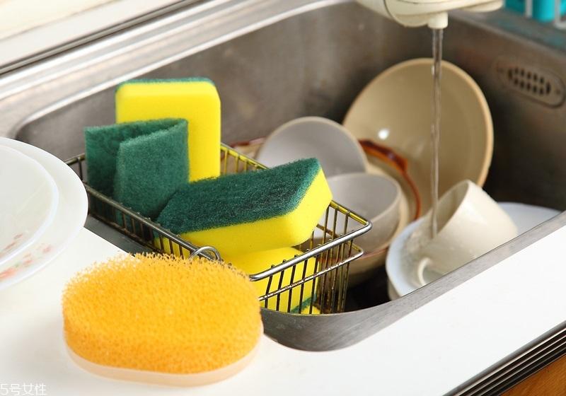 厨房抹布和百洁布怎么清洗