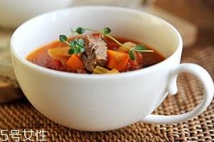 罗宋汤的热量多少 罗宋汤会胖吗