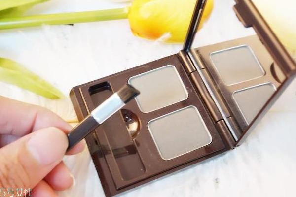 思亲肤巧克力眉粉画眉教程 思亲肤巧克力眉粉评测
