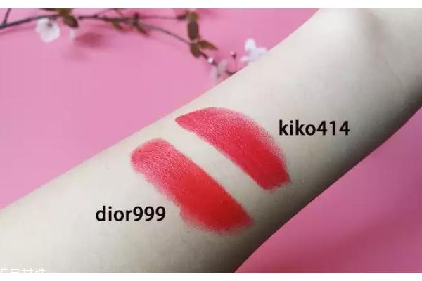 kiko414和迪奥999一样吗 kiko414和迪奥999对比图