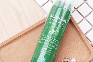 泰国annabella安娜贝拉海藻防晒喷雾油不油?防水吗?