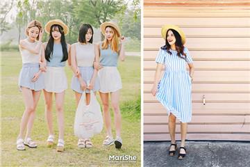 蓝色和白色衣服搭配好看吗