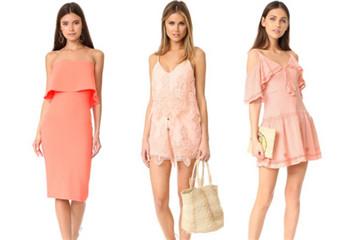 蜜桃色衣服好看吗 蜜桃色衣服搭配图片