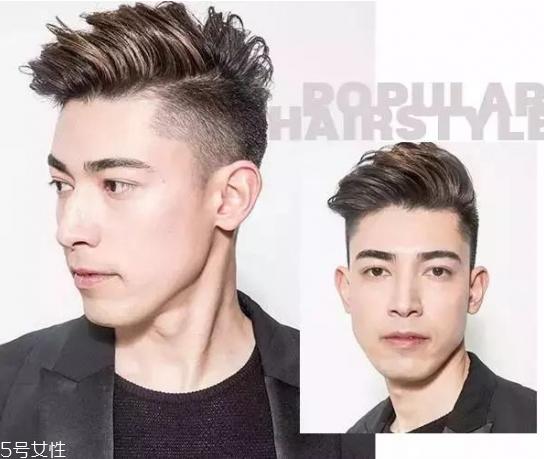 男生夏天适合剪什么发型 2018男生流行发型短发