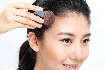 用眉粉怎么修饰发际线 用眉粉修饰发际线的具体方法