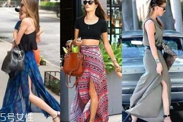 夏天开衩裙怎么穿好看 夏日开衩裙不同腿型搭配技巧