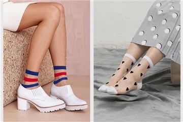 女生夏天穿什么袜子好看 女生夏天适合穿什么袜子