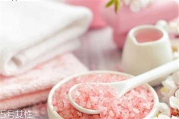 浴盐的作用是什么 浴盐的功效与作用