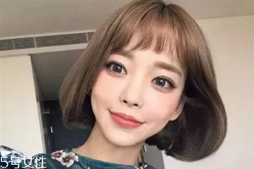2018年夏天热门的短发发型 夏天短发发型女2018