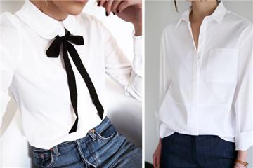 女生白衬衫配什么裤子 内行人才懂得穿搭
