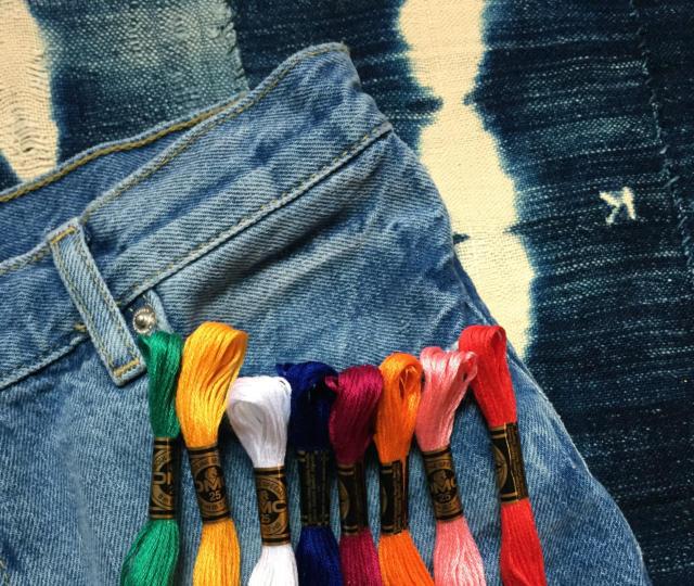 旧牛仔裤怎么改好看?只需几步立马变身时尚裤子