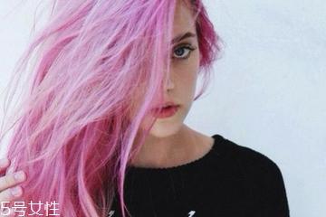 染粉色头发多少钱贵不贵