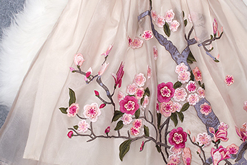 欧根纱是什么面料 婚纱常用布料