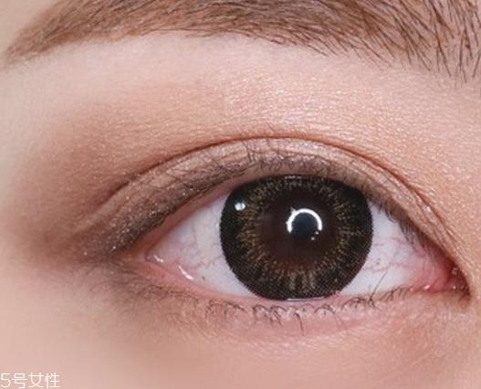 大地色眼影适合皮肤图片